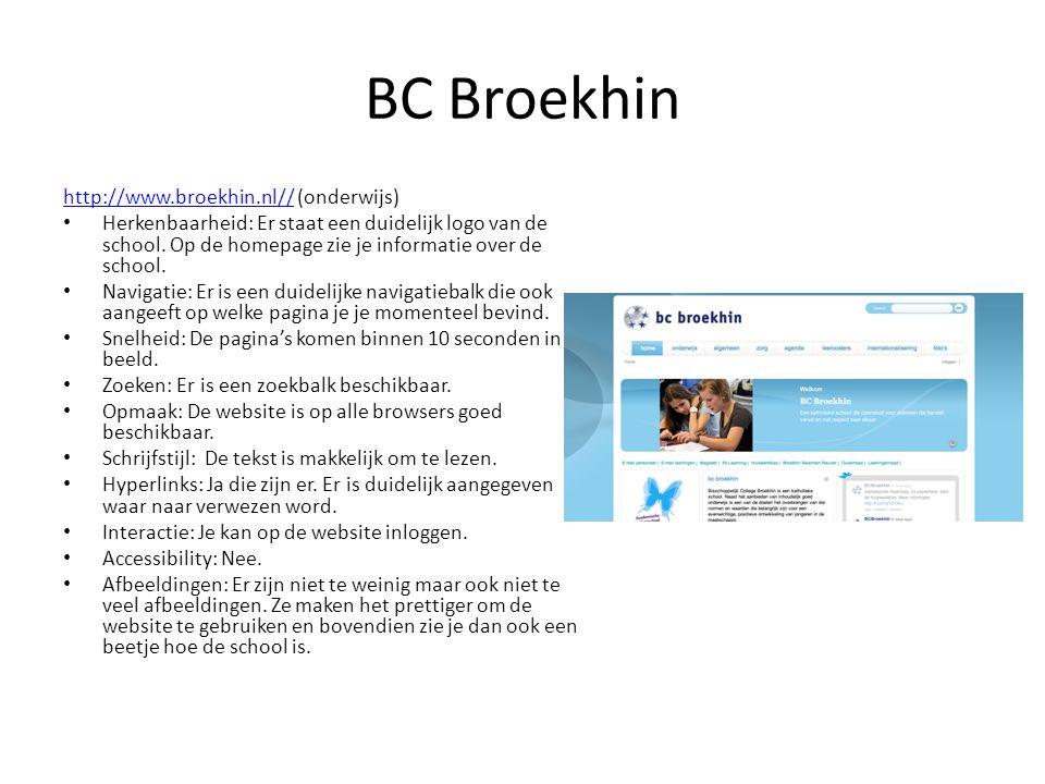 BC Broekhin http://www.broekhin.nl// (onderwijs)