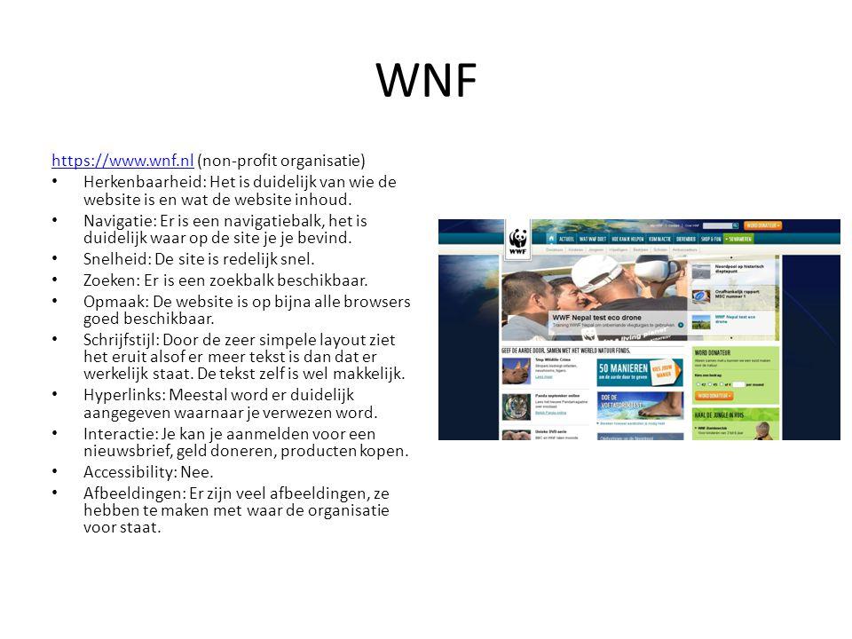 WNF https://www.wnf.nl (non-profit organisatie)