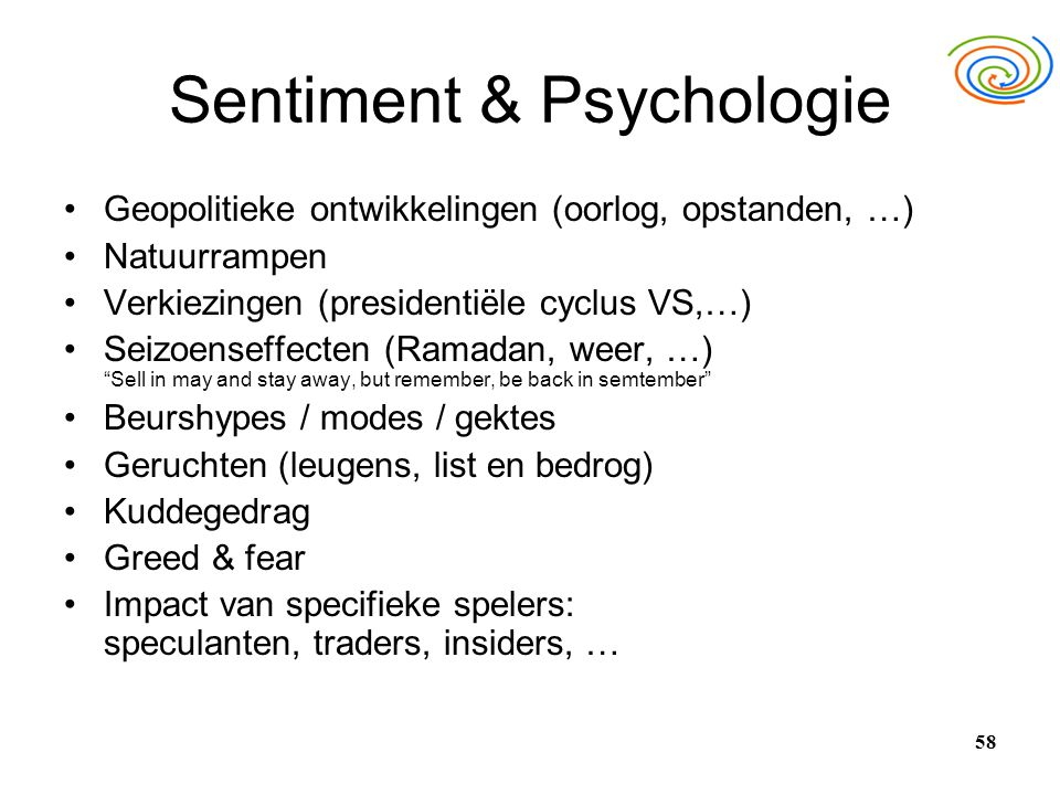 Sentiment & Psychologie