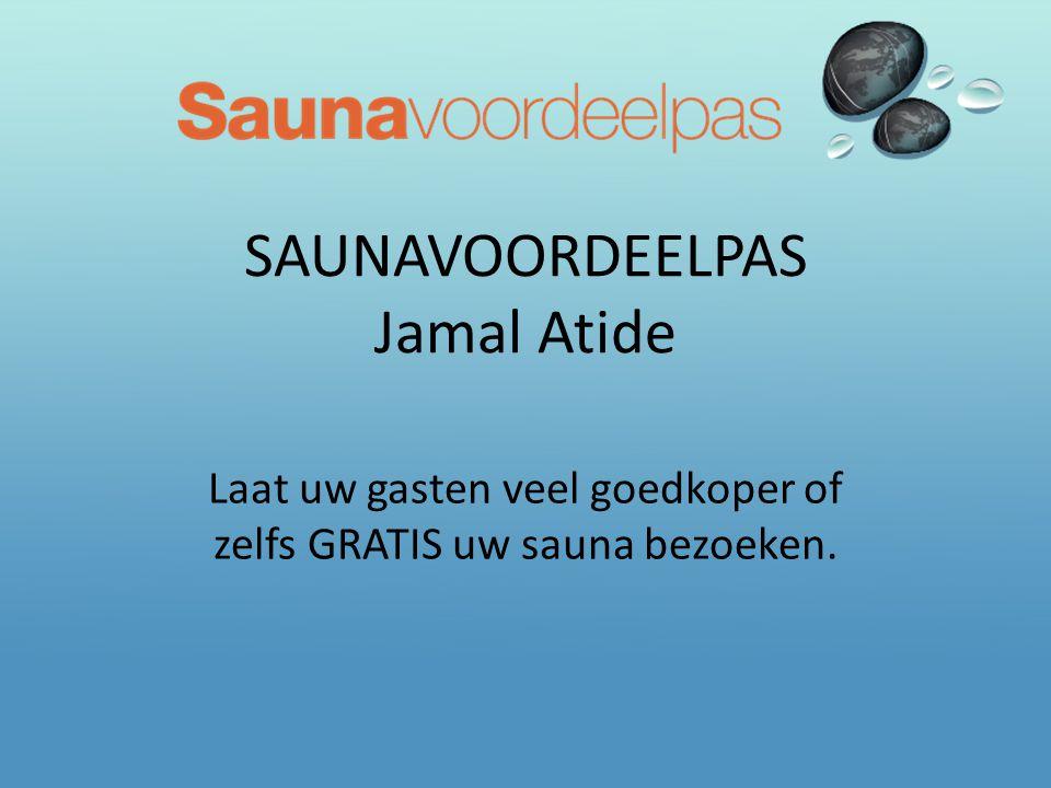SAUNAVOORDEELPAS Jamal Atide