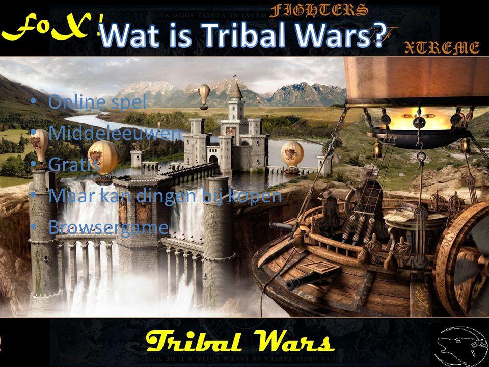Wat is Tribal Wars Online spel Middeleeuwen Gratis