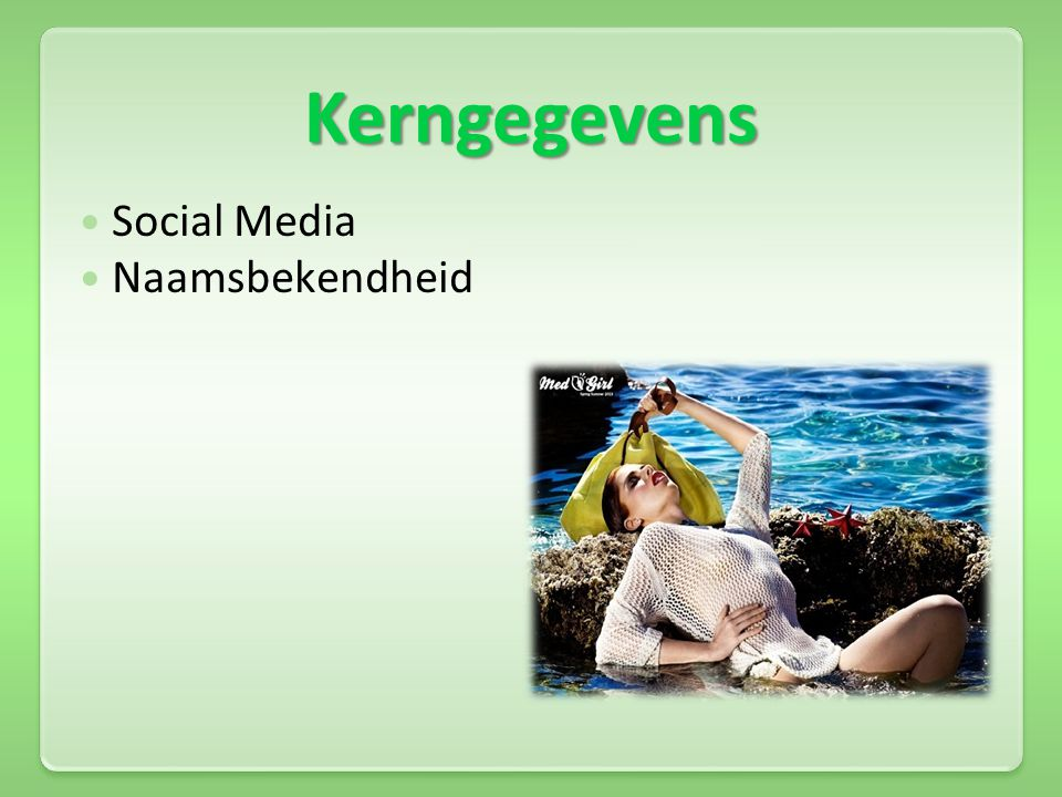 Kerngegevens Social Media Naamsbekendheid