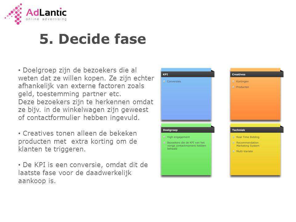 5. Decide fase
