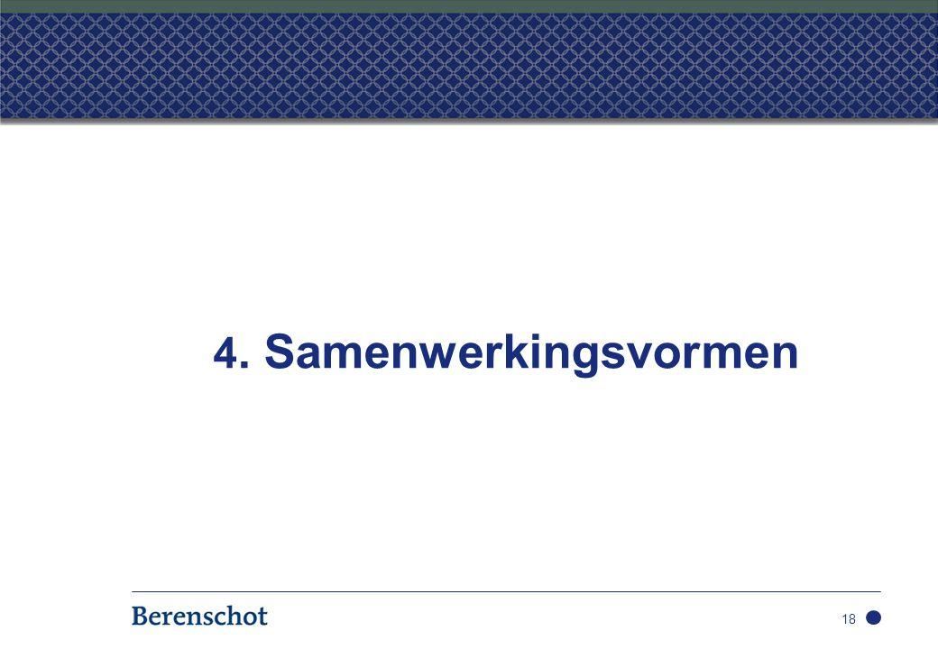 4. Samenwerkingsvormen