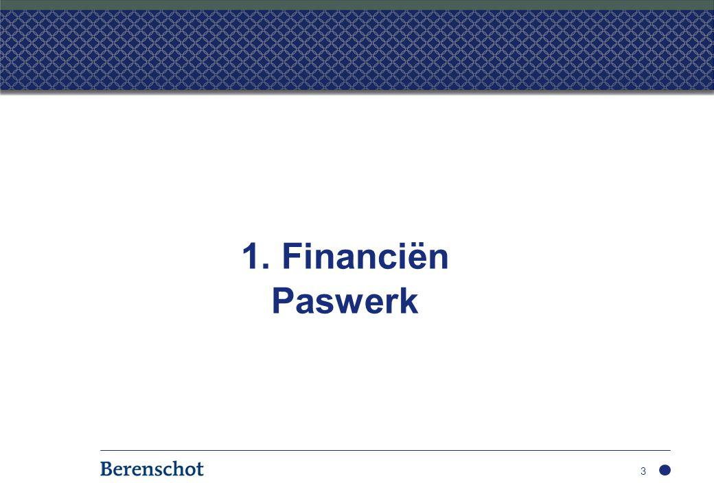 1. Financiën Paswerk