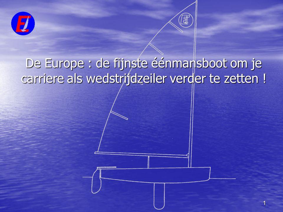 De Europe : de fijnste éénmansboot om je carriere als wedstrijdzeiler verder te zetten !