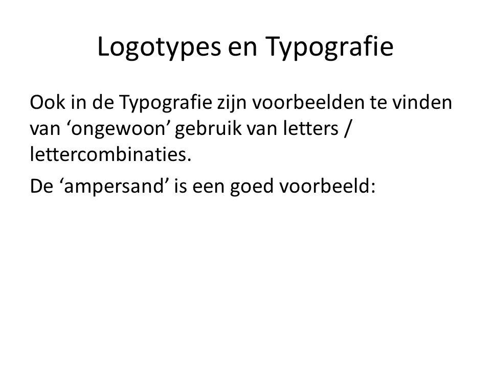 Logotypes en Typografie