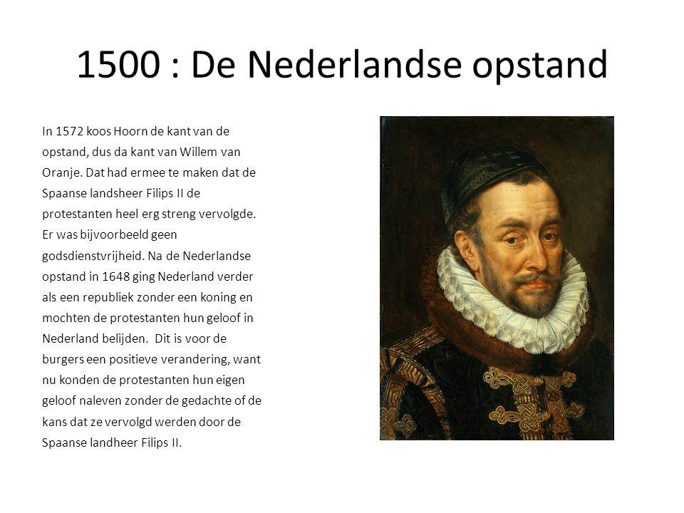 1500 : De Nederlandse opstand