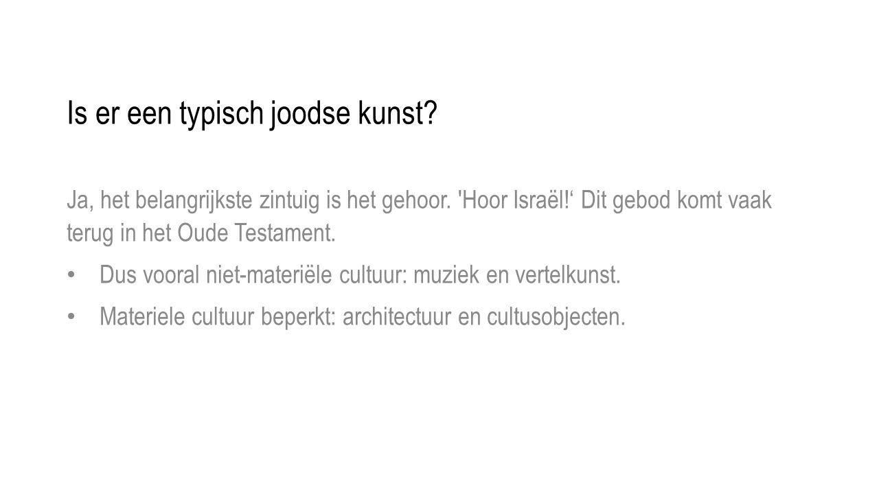 Is er een typisch joodse kunst