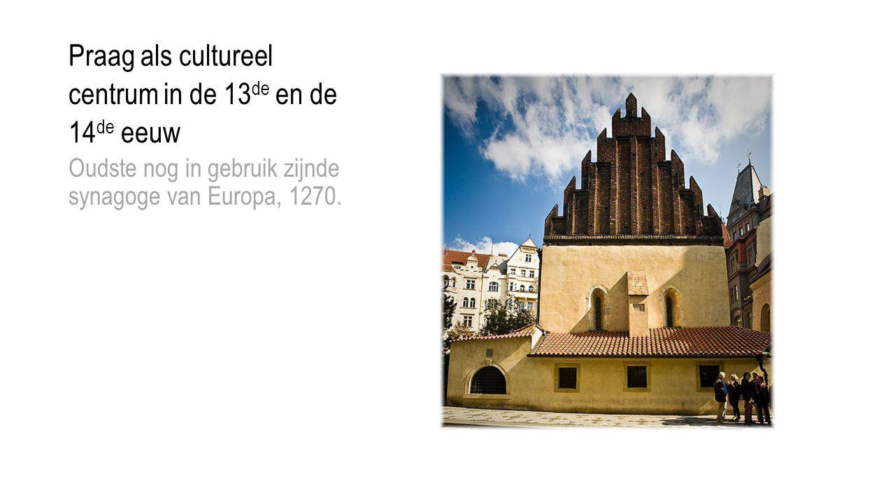 Praag als cultureel centrum in de 13de en de 14de eeuw