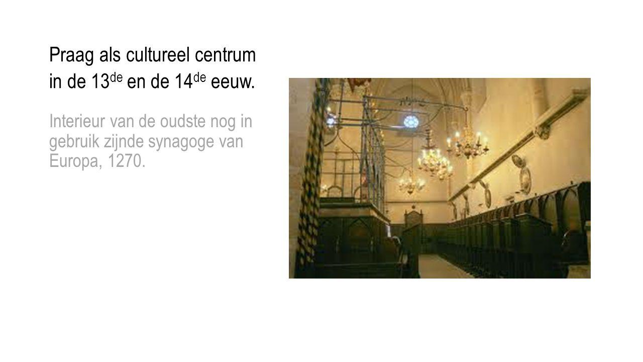 Praag als cultureel centrum in de 13de en de 14de eeuw.