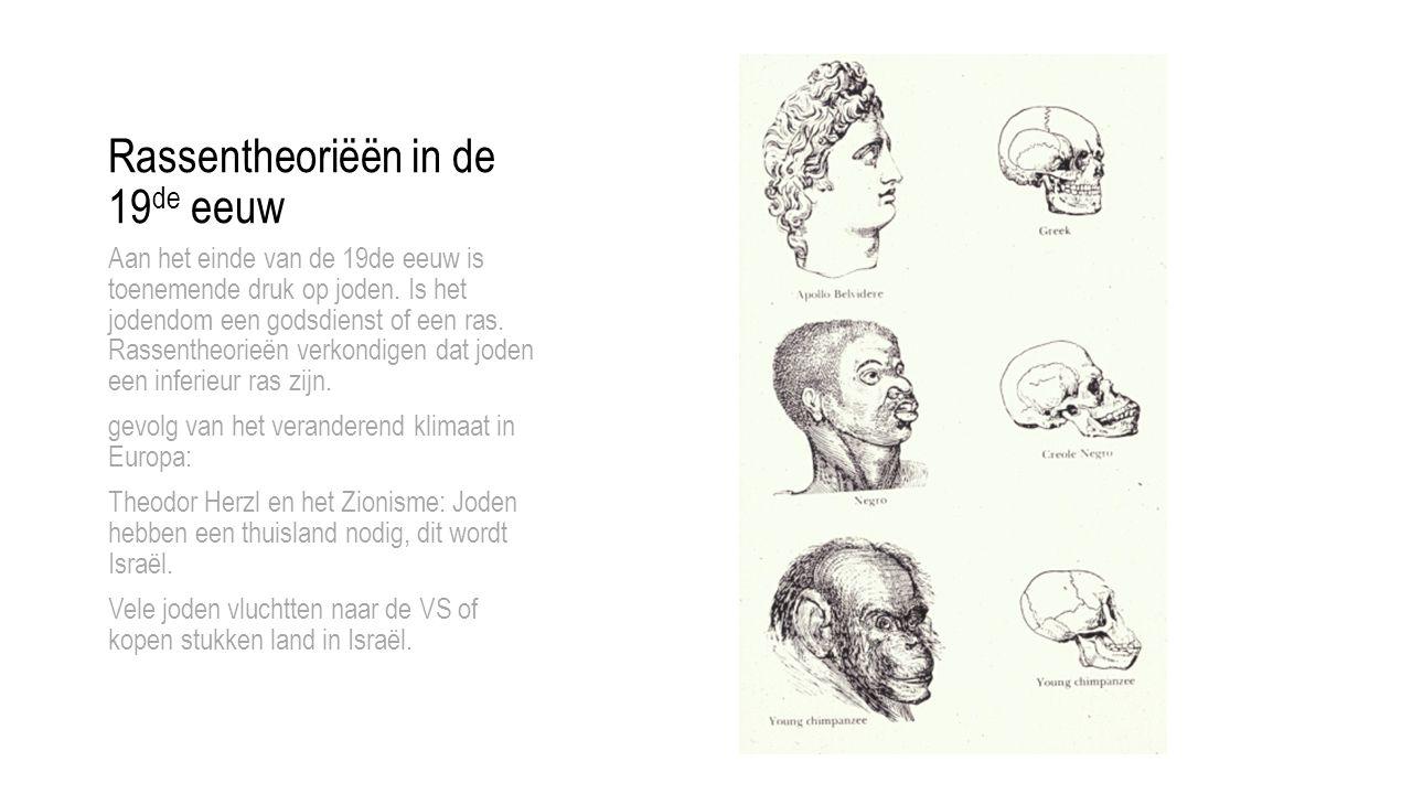 Rassentheoriëën in de 19de eeuw