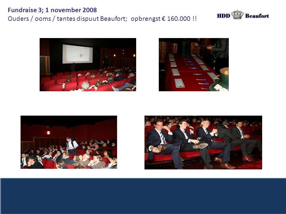 Ouders / ooms / tantes dispuut Beaufort; opbrengst € 160.000 !!