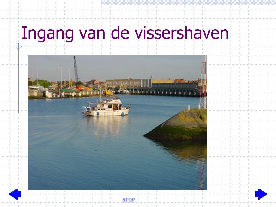 Ingang van de vissershaven