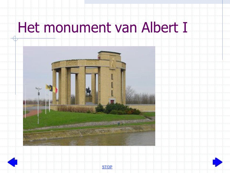 Het monument van Albert I