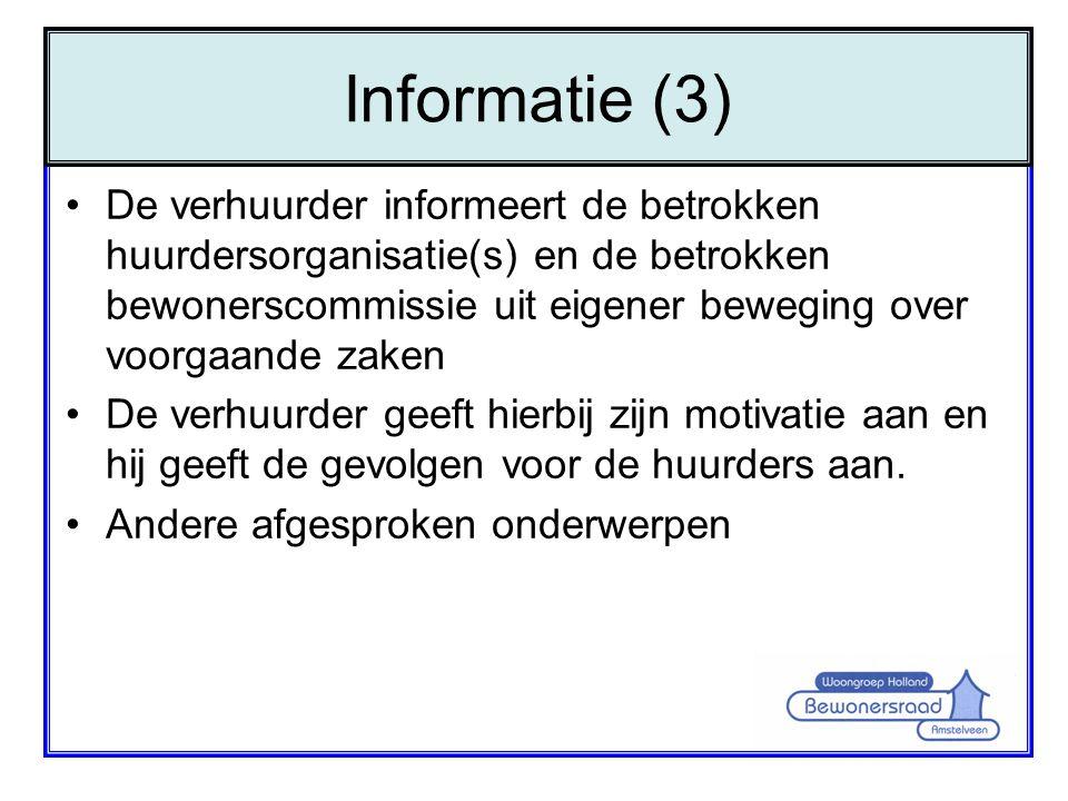 Informatie (3)