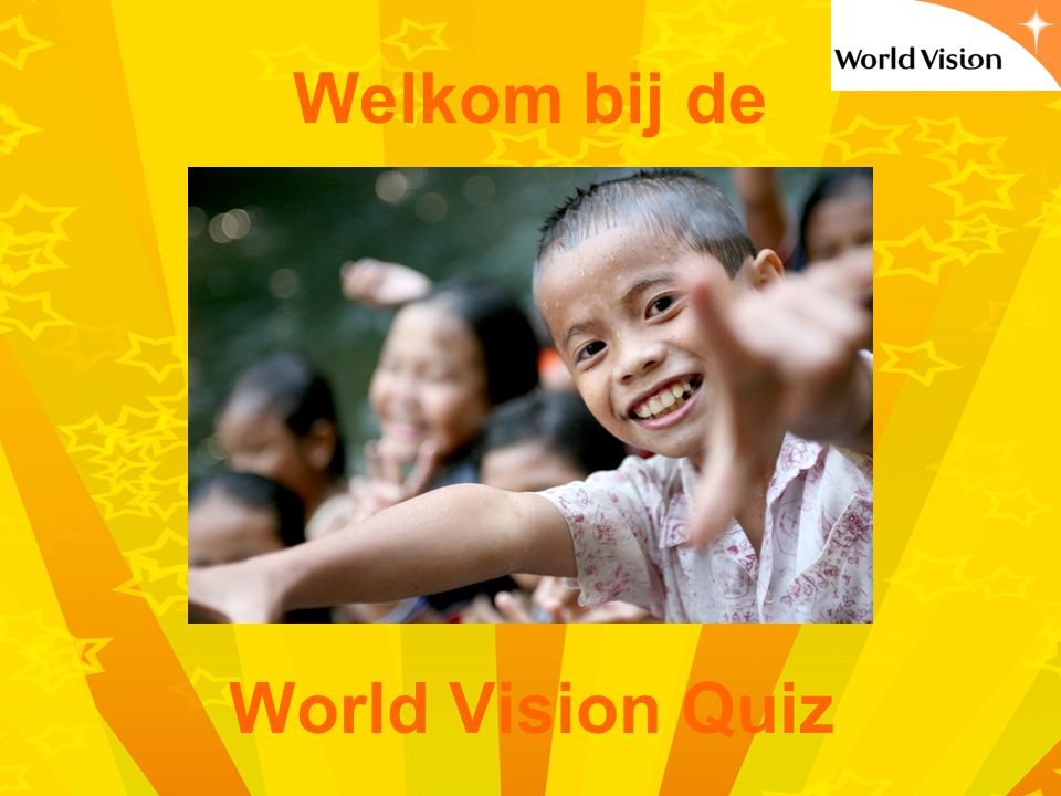 Welkom bij de World Vision Quiz