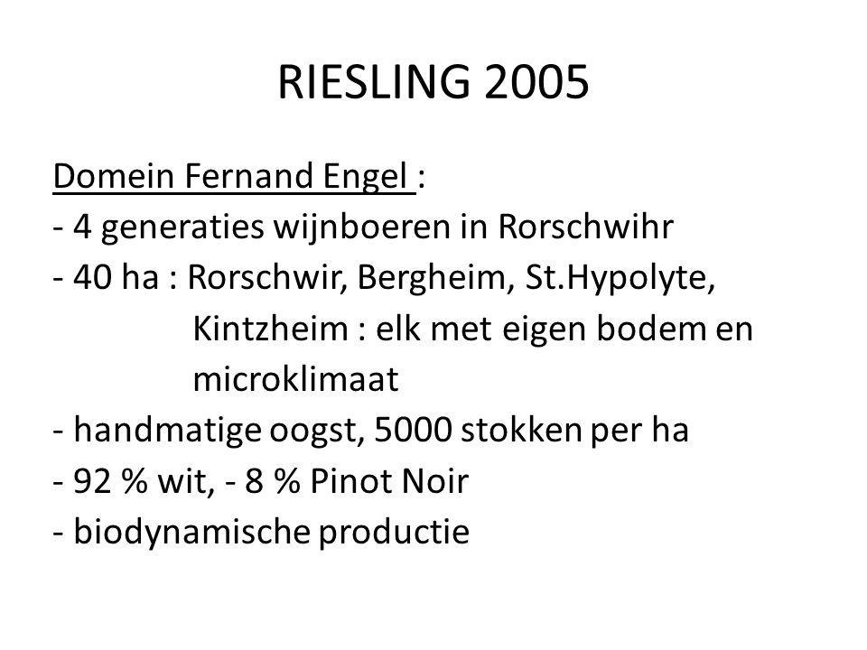RIESLING 2005
