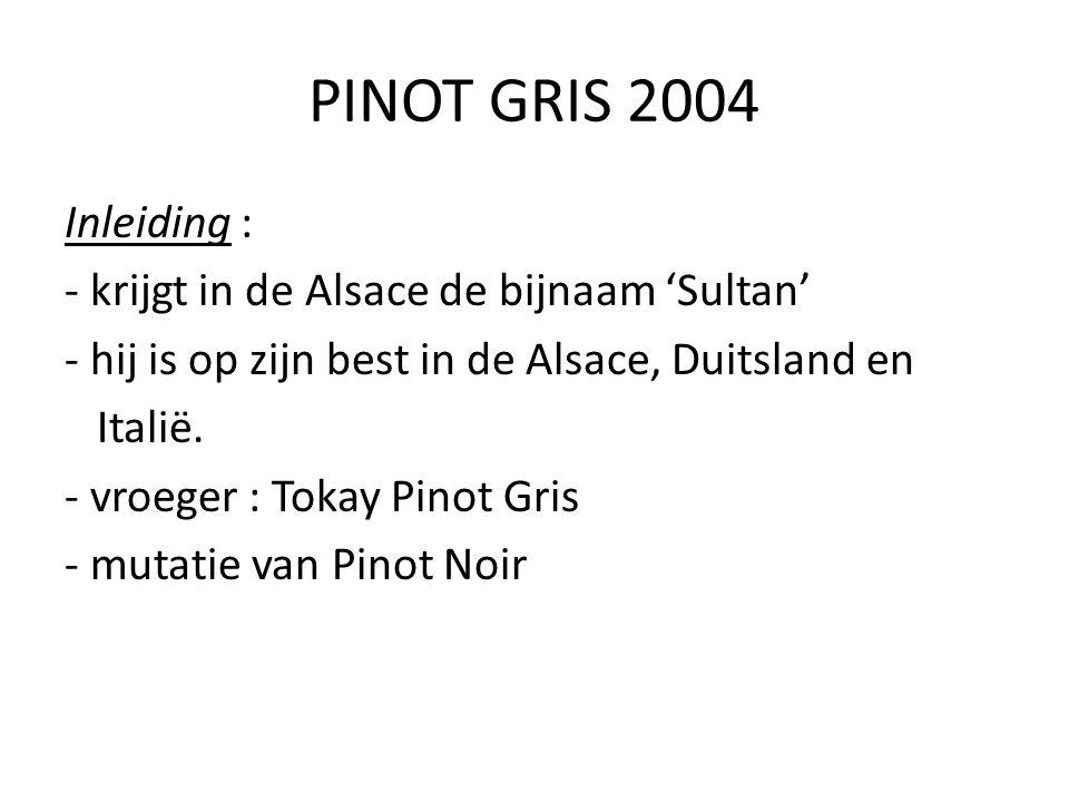 PINOT GRIS 2004