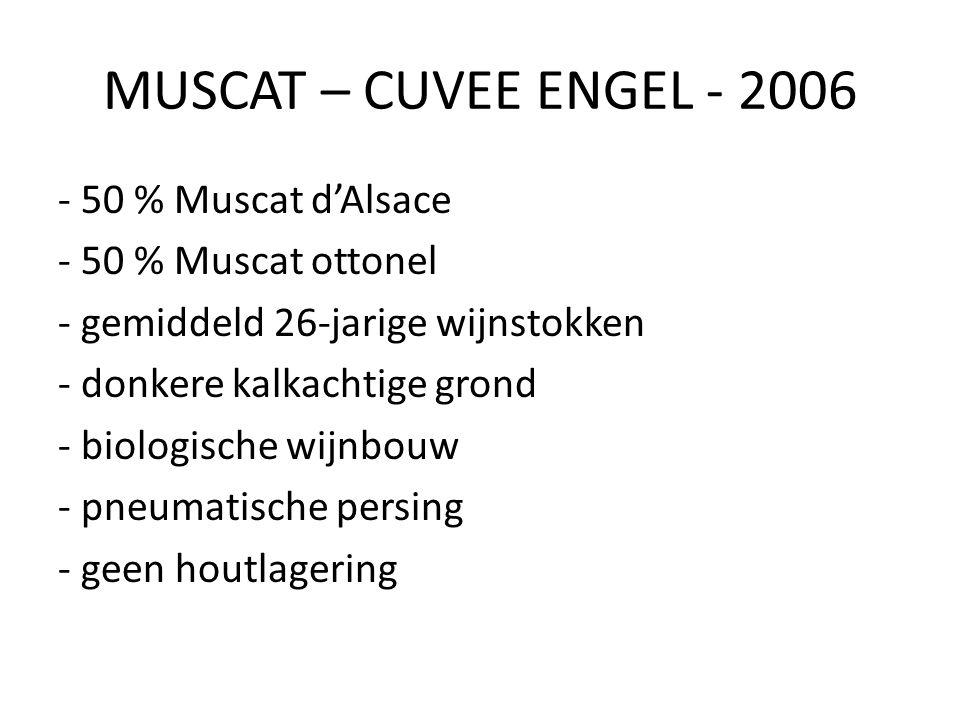 MUSCAT – CUVEE ENGEL - 2006
