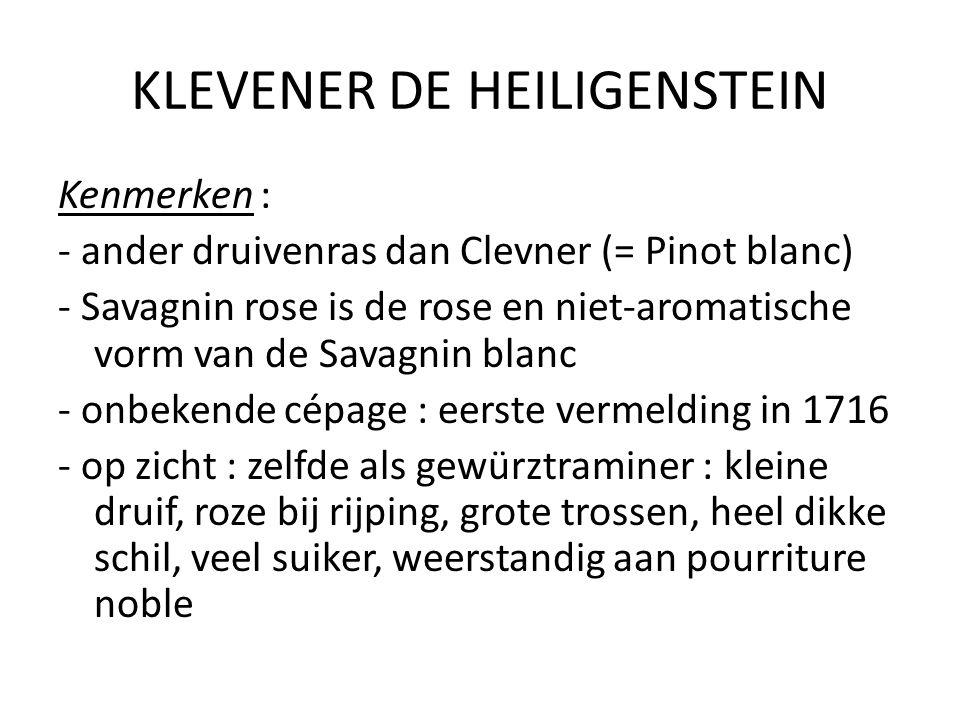KLEVENER DE HEILIGENSTEIN