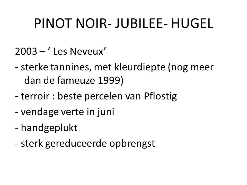 PINOT NOIR- JUBILEE- HUGEL