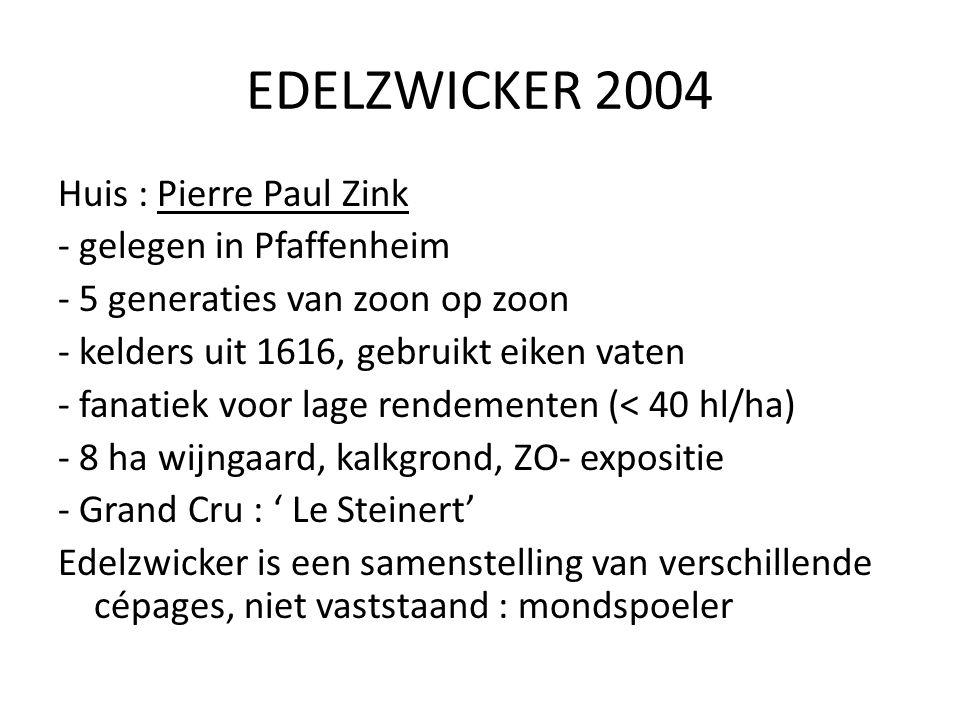 EDELZWICKER 2004