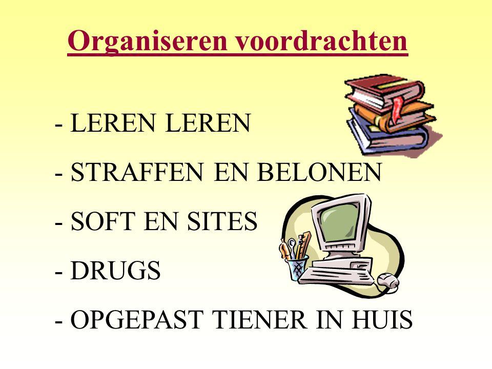 Organiseren voordrachten