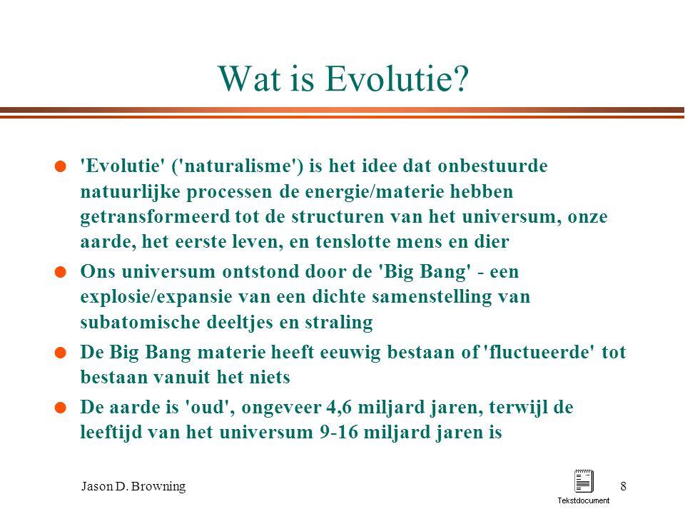 Wat is Evolutie
