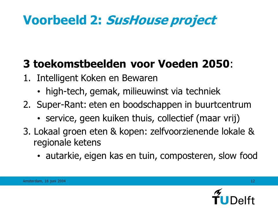 Voorbeeld 2: SusHouse project