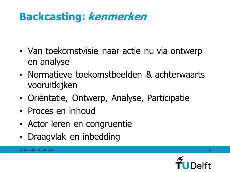 Backcasting: kenmerken