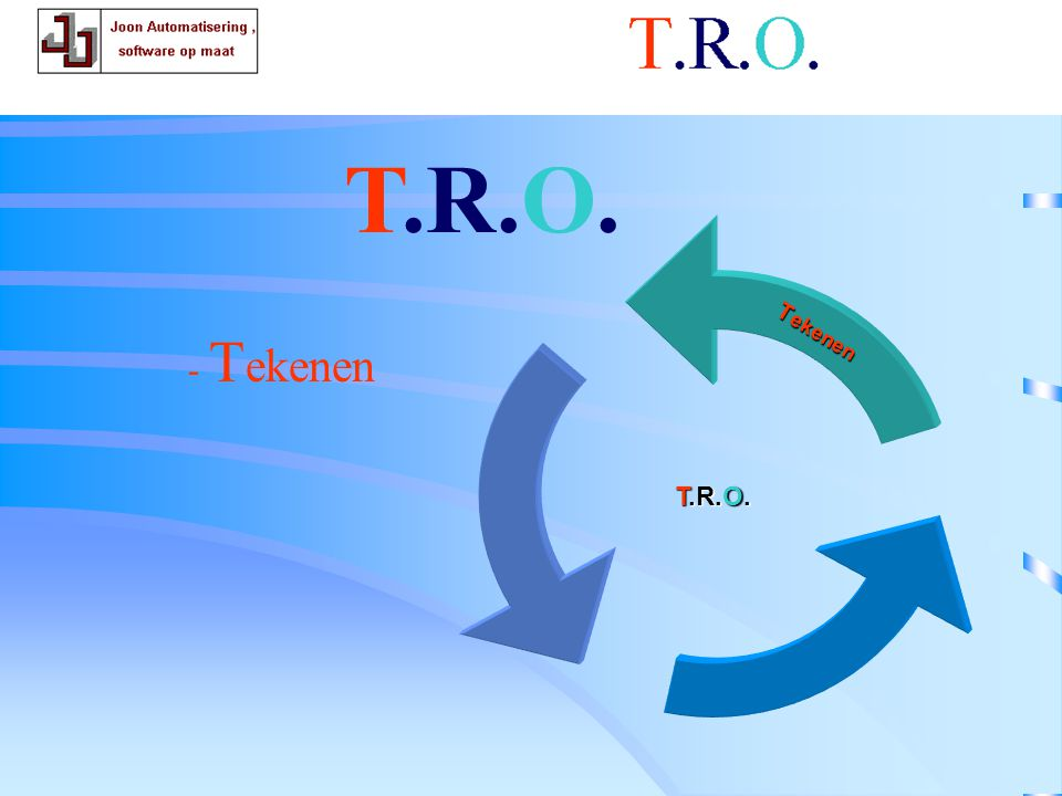 T.R.O. tekenen T.R.O. T.R.O. Tekenen - Tekenen