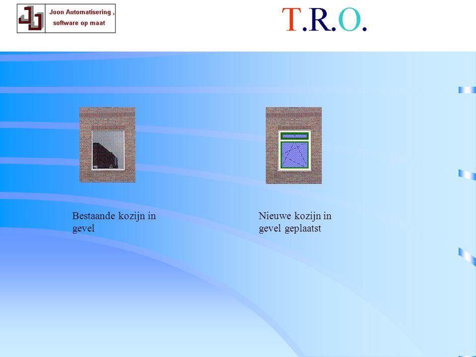 T.R.O. tekenblad betsaand en nieuw
