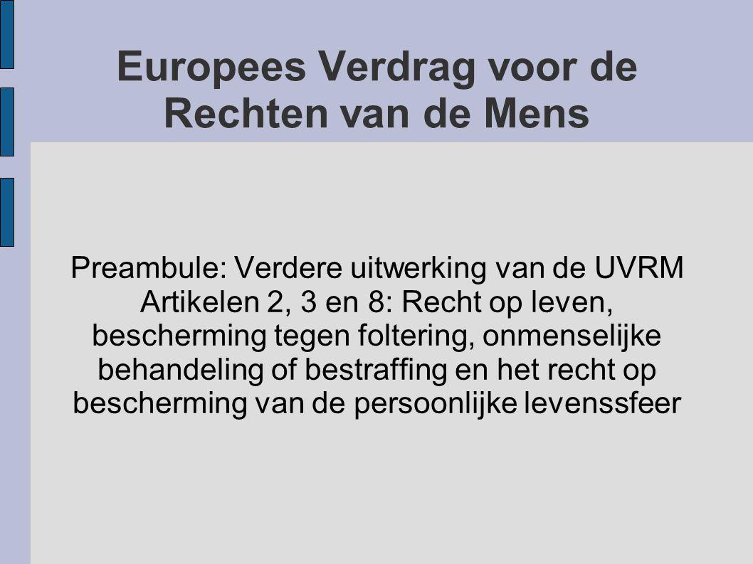 Europees Verdrag voor de Rechten van de Mens