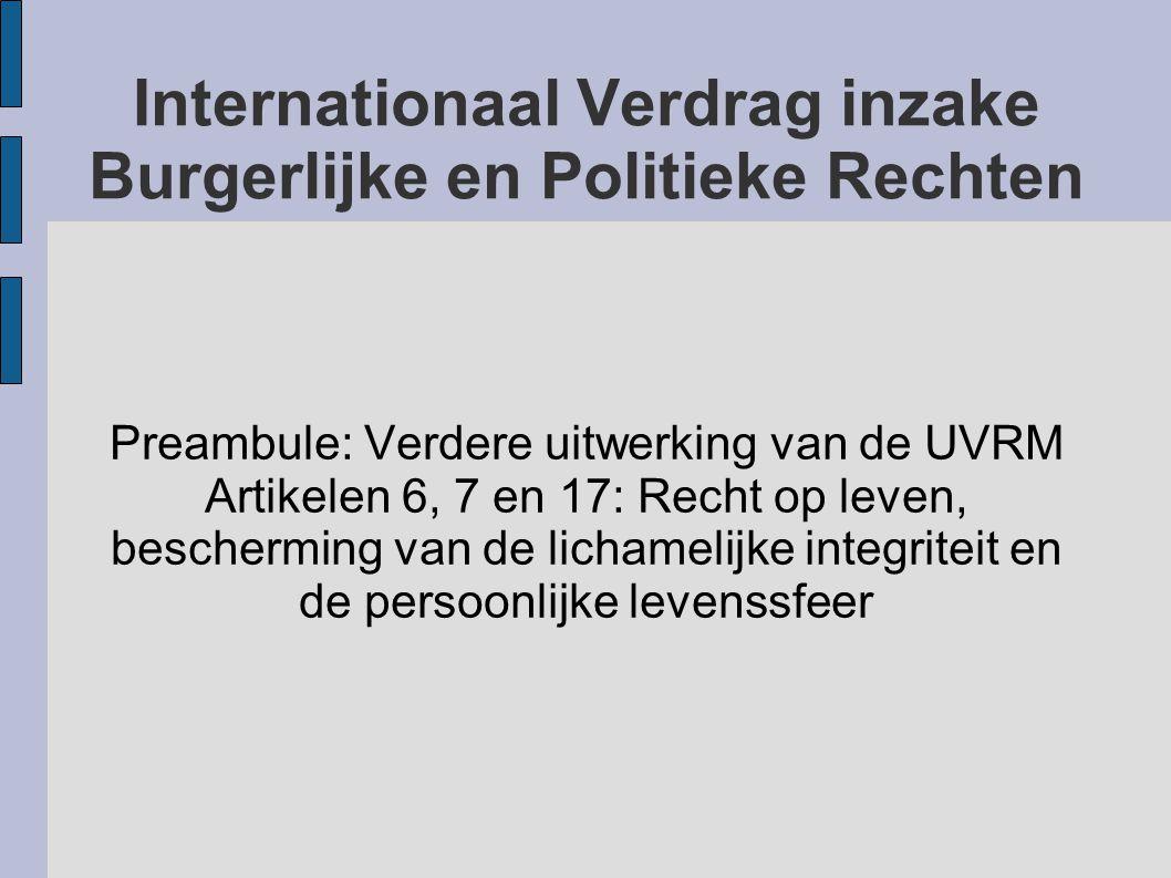 Internationaal Verdrag inzake Burgerlijke en Politieke Rechten