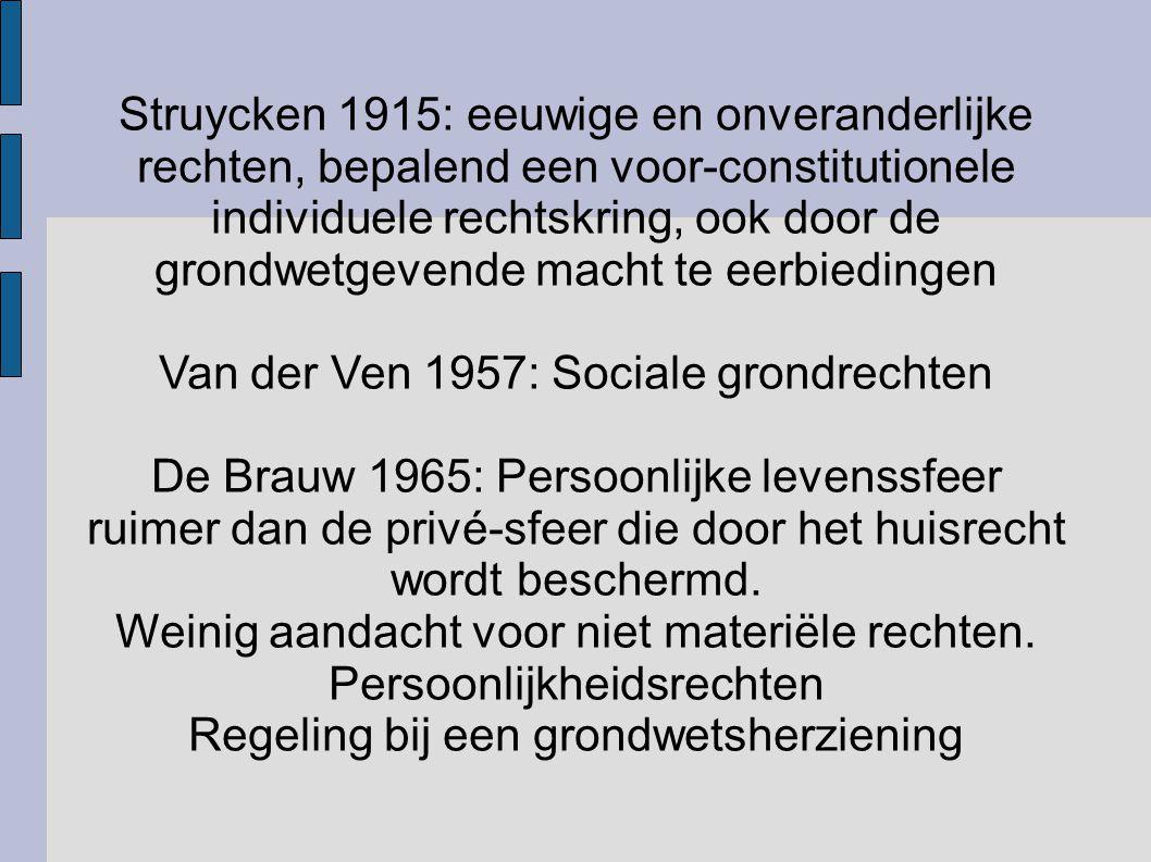 Van der Ven 1957: Sociale grondrechten
