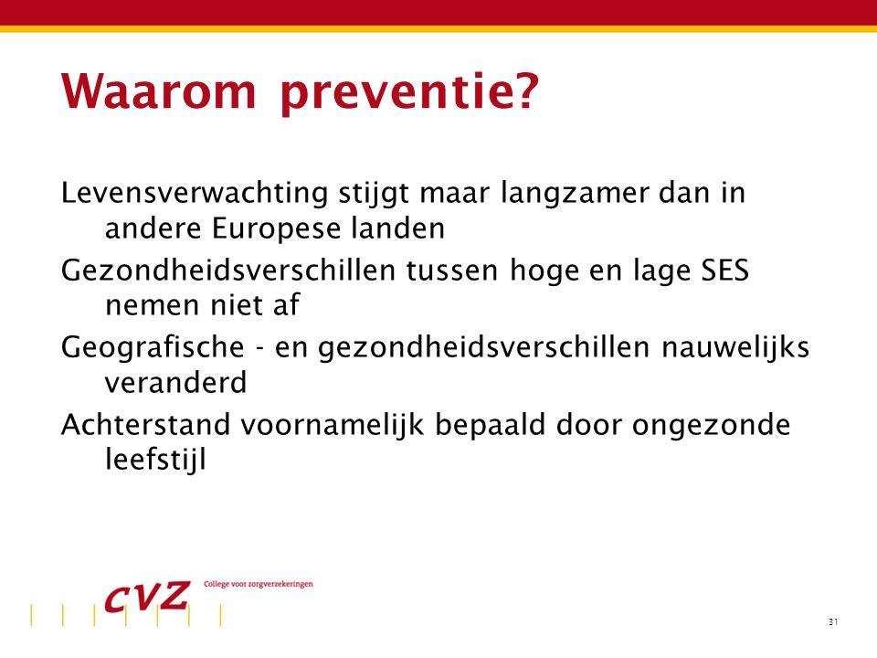 Kosten van preventie (2003)