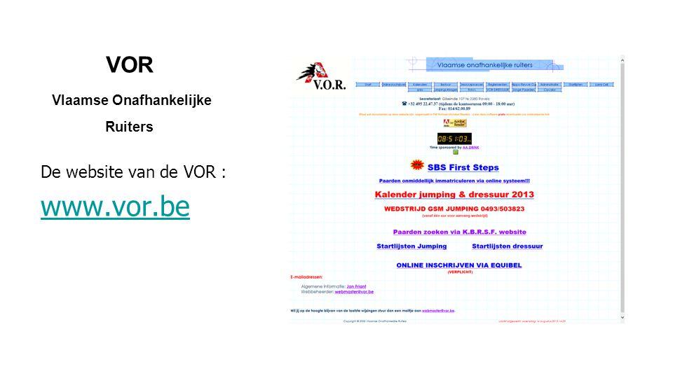 VOR Vlaamse Onafhankelijke Ruiters