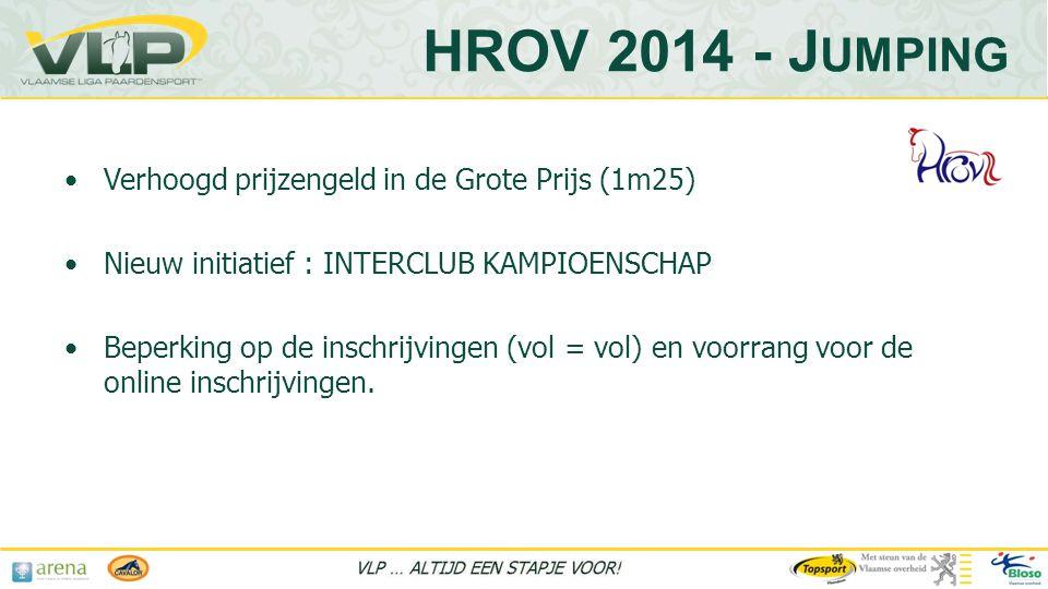 HROV 2014 - Jumping Verhoogd prijzengeld in de Grote Prijs (1m25)