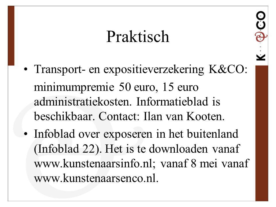 Praktisch Transport- en expositieverzekering K&CO: