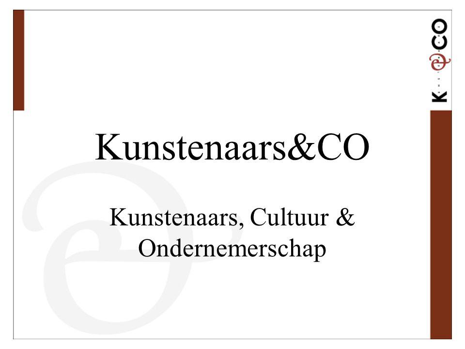 Kunstenaars, Cultuur & Ondernemerschap