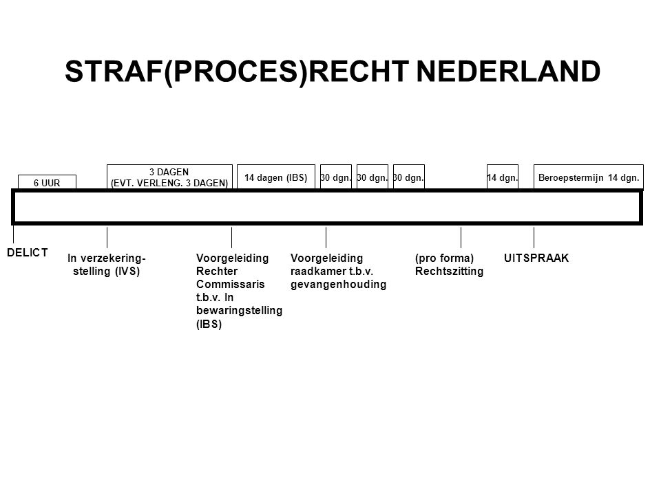 STRAF(PROCES)RECHT NEDERLAND In verzekering-stelling (IVS)
