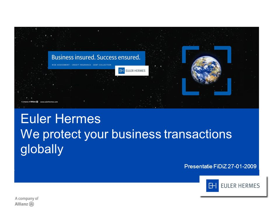 Euler Hermes We protect your business transactions globally