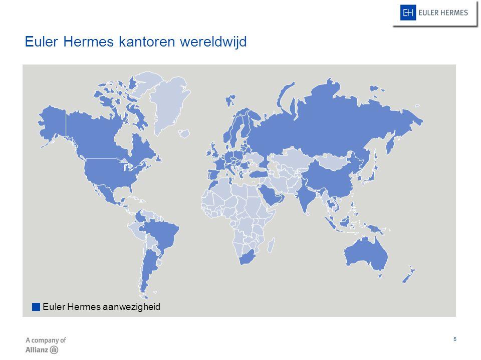 Euler Hermes kantoren wereldwijd