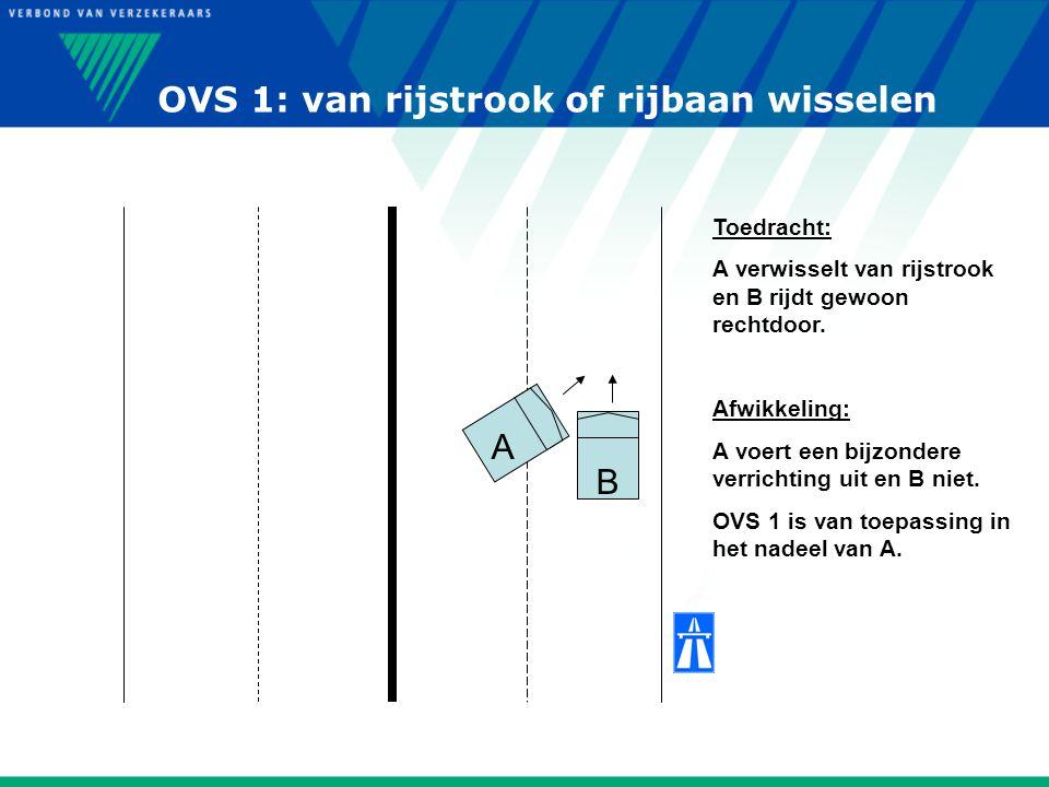 OVS 1: van rijstrook of rijbaan wisselen