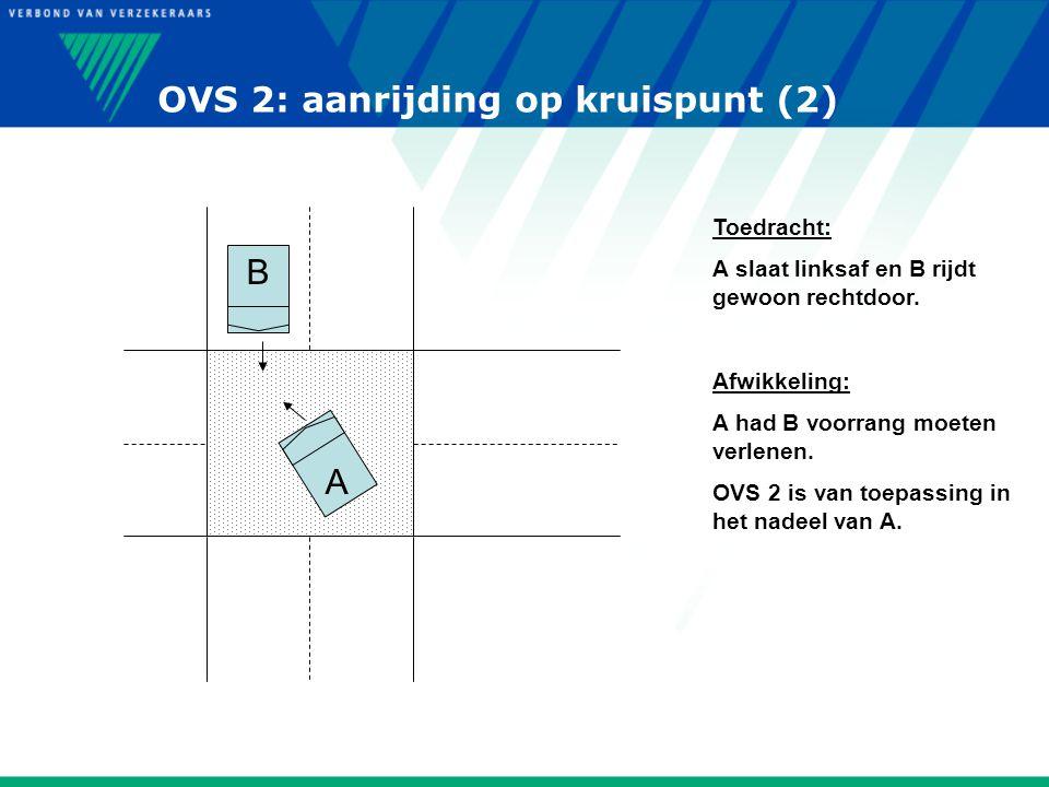 OVS 2: aanrijding op kruispunt (2)