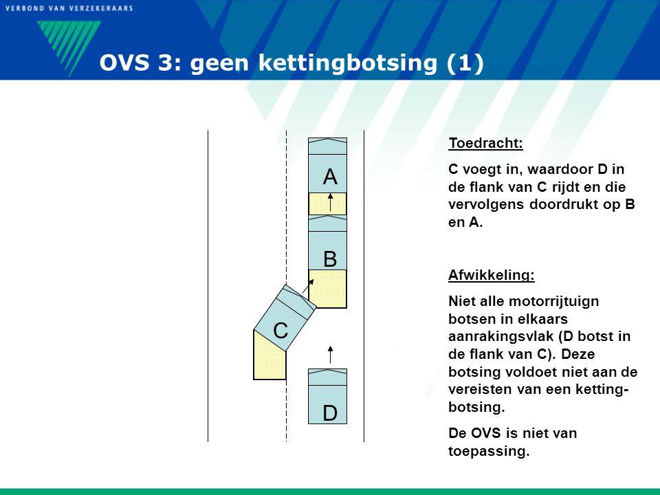 OVS 3: geen kettingbotsing (1)