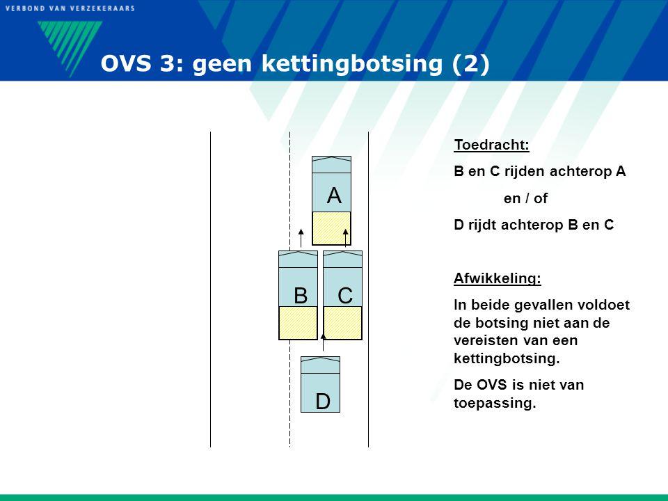 OVS 3: geen kettingbotsing (2)