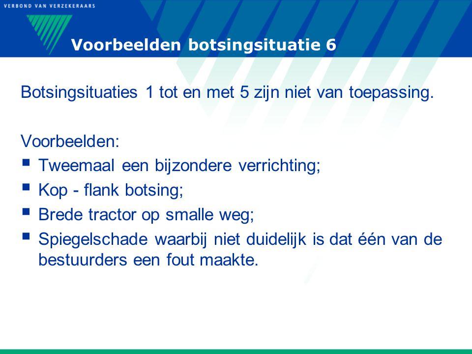 Voorbeelden botsingsituatie 6