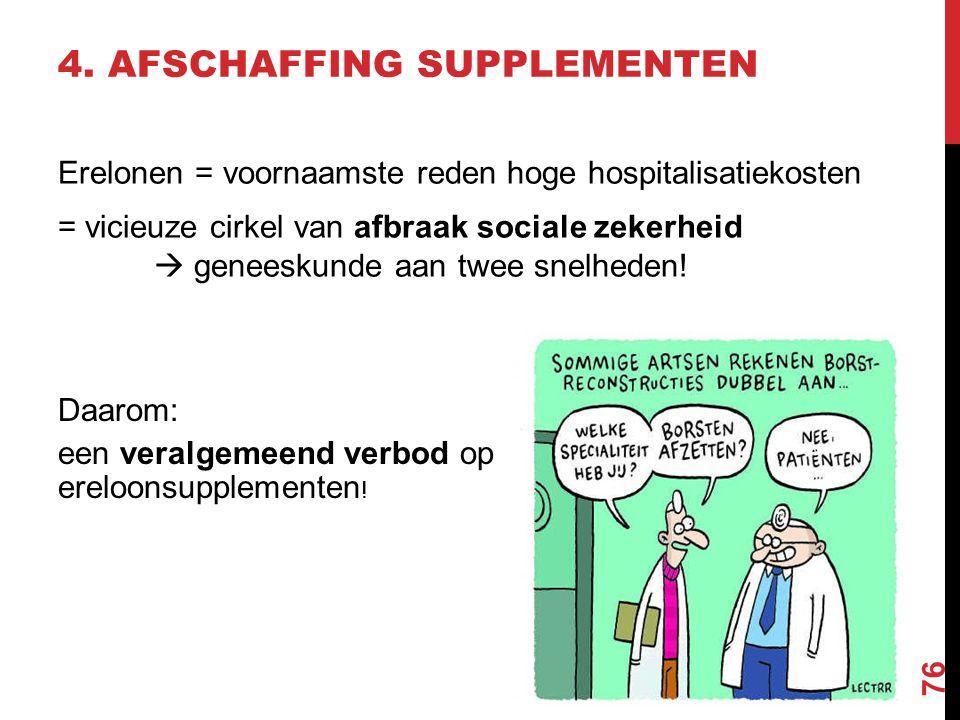 5. STERKE EERSTE LIJN Gezondheid is een basisrecht! Al te vaak is de financiële drempel te groot.